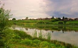Land-Landschaft Lizenzfreie Stockfotografie