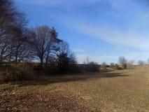 Land-Landschaft, Northumberland, Großbritannien Lizenzfreie Stockfotografie