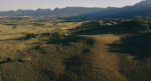 Land landwirtschaftlich und Landwirtschaftsfeld stockbilder