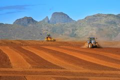 Land Levelling Stock Images