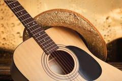 Land och västra musik royaltyfri foto