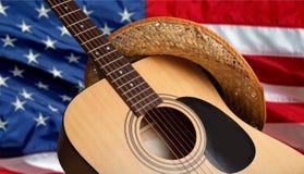 Land och västra musik royaltyfria foton