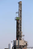 Land oil drilling rig Royalty Free Stock Photo