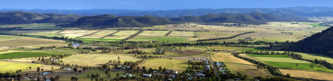 Land-Panorama Lizenzfreies Stockfoto
