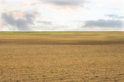 Land ready to be seeded Stock Photos