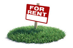 Land For Rent Royalty Free Stock Photography