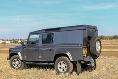 Land Rover image stock