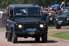 Land Rover stock photo