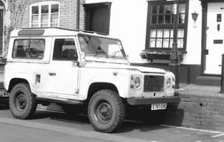 Land Rover Photographie stock libre de droits
