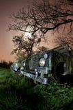 Land rover arrugginita Immagine Stock Libera da Diritti