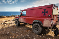 Land Rover Defender Stock Image