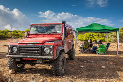 Land Rover Defender Royalty Free Stock Images