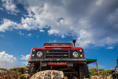 Land Rover Defender Stock Photos