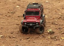 Land Rover Defender off-road vehicle Stock Photos