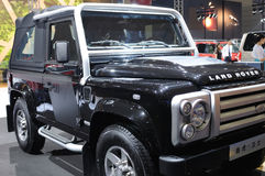 Land rover Defender suv Stock Photography