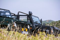 Land Rover Defender 110 suv Stock Photography