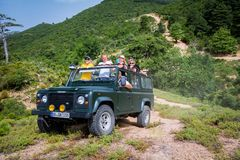 Land Rover Defender 110 suv Royalty Free Stock Image