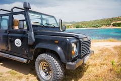 Land Rover Defender 110 suv Royalty Free Stock Photos