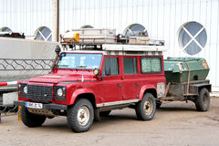 Land Rover Defender Royalty Free Stock Photo