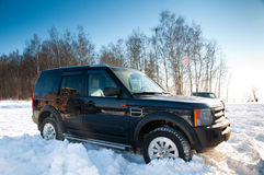 Land Rover Discovery Royalty Free Stock Photo