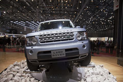Land Rover Discovery 4 Stock Photo