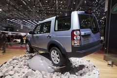 Land Rover Discovery 4 Royalty Free Stock Photography