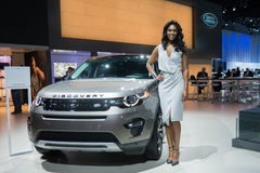 Land Rover Discovery Lizenzfreies Stockbild