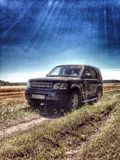 Land Rover Discovery 4 Stock Images