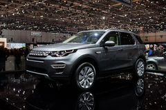 Land Rover Discovery Sport Stock Photos