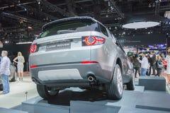 Land-Rover Discovery Sport HSE-Luxusauto 2015 Stockfotos