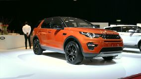 Land Rover Discovery Sport stock video