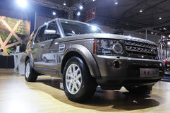 Land rover discovery suv Stock Photography