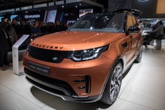 Land Rover Discovery SUV car Stock Images