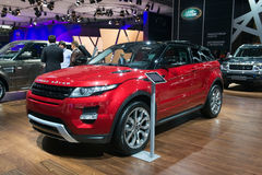 Land Rover Evoque Royalty Free Stock Image
