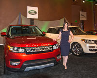 Land Rover Exhibit Stock Images