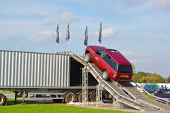 Land Rover Experience Terrapod obstacle course royalty free stock photos