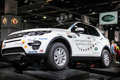 Land Rover Experience Vehicle at the IAA 2015 Stock Photo