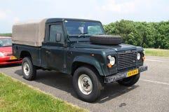 Land Rover 110 försvarare Arkivbild