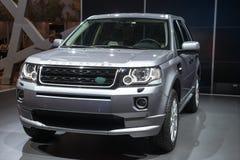 Land Rover Freelander 2 новое - мировая премьера Стоковые Фото