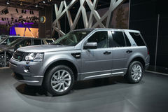 Land Rover Freelander 2 new  - world premiere Royalty Free Stock Photo
