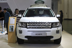 Land rover freelander 2 car Royalty Free Stock Image