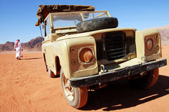 Land Rover jeep journey Royalty Free Stock Photos
