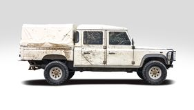 Land rover 130 LHD double cab Royalty Free Stock Photos