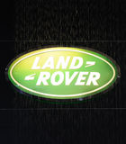 Land rover logo Royalty Free Stock Photo