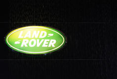 Land rover logo Royalty Free Stock Photography