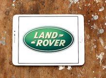 Land Rover logo royaltyfri bild