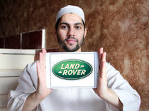 Land rover logo Royalty Free Stock Image