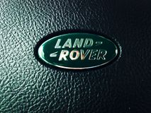 Land Rover logotype Royalty Free Stock Images