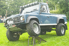 Land rover modificada em Fortrose. Fotos de Stock