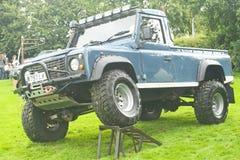 Land rover modificata a Fortrose. Fotografie Stock